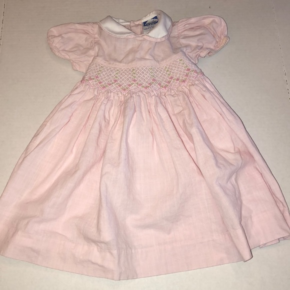 ab95dd148 Carriage Boutiques Dresses | Carriage Boutique Smocked Pink Dress ...